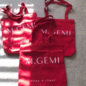 Bundle 3 canvas M. Gemi totes NEW